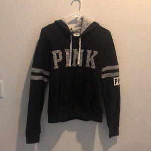 VS Pink Grey/Black Hoodie